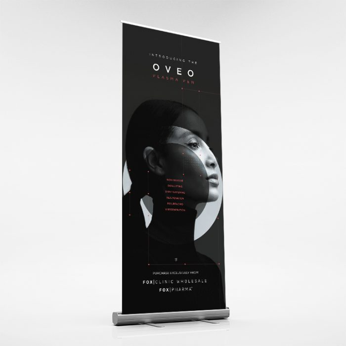 OVEO pullup banner